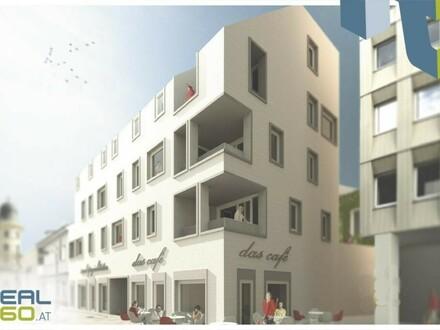 Optimale Geschäftsfläche und/oder Gastrofläche in komplett saniertem Gebäude unweit der Linzer Landstraße zu vermieten!