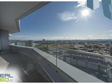 NEUBAU - LENAUTERRASSEN - ERSTBEZUG   3-Zimmer Wohntraum mit riesen Balkon und möblierter Küche! (GRATIS UMZUGSMONAT)