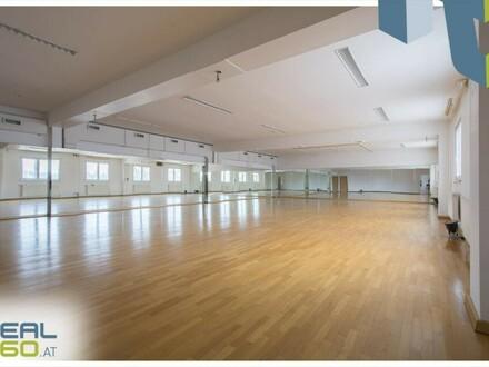Großflächiges Fitnessstudio auf 2 Geschoße mit ca. 1.750m² - Wels!!