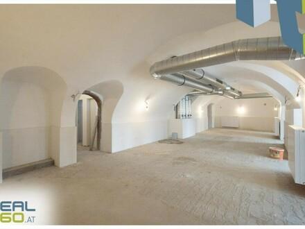 Geschäftsfläche mit perfekter Aufteilung und tollen Details in Linz zu vermieten!