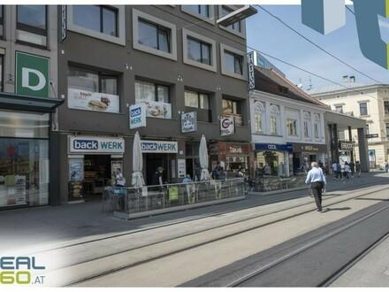 Optimale Bürofläche in bester Linzer Lage - direkt auf der Landstraße - zu vermieten!