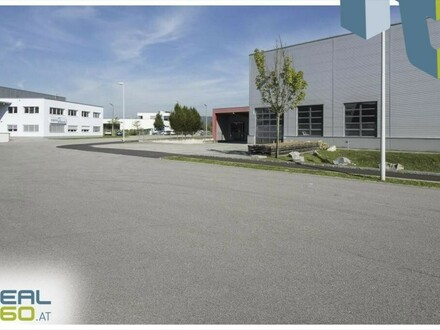 """Gewerbeobjekt mit Lagerhalle und Büro in TOP-Lage im Linzer """"Südpark"""" zu mieten!"""