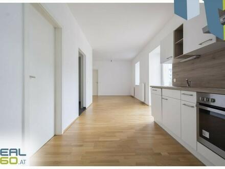 Super aufgeteilte 3-Zimmer Wohnung mit riesiger, hofseitiger Loggia zum Wohlfühlen!