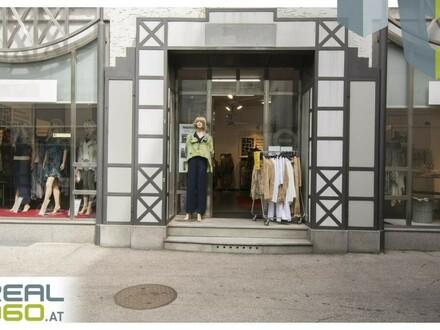 Super Geschäftsfläche mit ca. 107,20 m² Verkaufsraum und Schaufensterfront in Linz!!