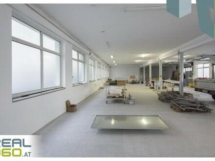 Widmung Betriebsbaugebiet - Tolles Gewerbeobjekt in Pasching mit Halle, Werkstatt, Büro!!
