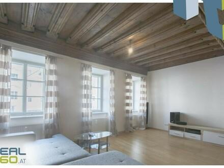 Wohnung mit riesiger Wohnküche direkt am Welser Stadtplatz zu vermieten!