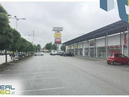 Tolle Geschäftsfläche im Fachmarktzentrum Tumeltsham mit ca. 394,74m² zu vermieten!