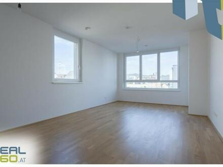 3-Zimmer-Wohnung mit großzügiger Wohnküche und hofseitiger Loggia zu vermieten!