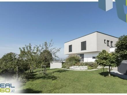 Moderne-Hightech-Villa mit tollem UNVERBAUBAREM Fernblick - 15min vor Linz!
