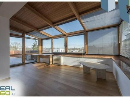 Dachgeschosswohnung mit Klimaanlage und Garagenplatz in Neuhofen!