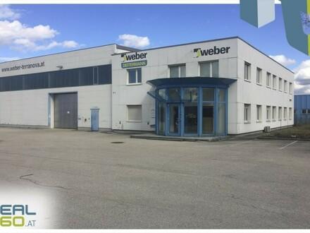 Optimal gelegenes Gewerbeobjekt direkt an der Stadtgrenze Linz-Traun gelegen zu vermieten!