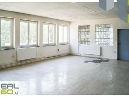 Großzügige Büroflächen im Fabriksgelände der Gewerbezone OST neu zu vermieten!!