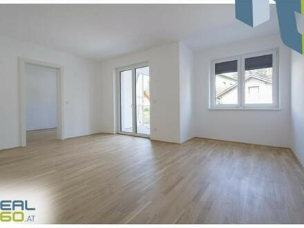 Urfahr/Katzbach - ERSTBEZUG - 3-Zimmer-Wohnung mit riesen Terrasse und Loggia!