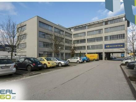 Helle Büroflächen in Pasching zu vermieten! TEILBAR