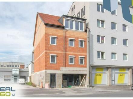 Erstbezug - Geschäftsfläche in Linzer Frequenzlage Wiener Straße zu vermieten!