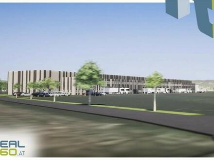 Gewerbeobjekt/Logistikhalle bestehend aus Halle und Büroflächen in Wels zu vermieten!
