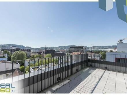 LUXUS PUR - Penthouse-Wohnung mit 2 Dachterrassen in Linz zu vermieten - PROVISIONSFREI!