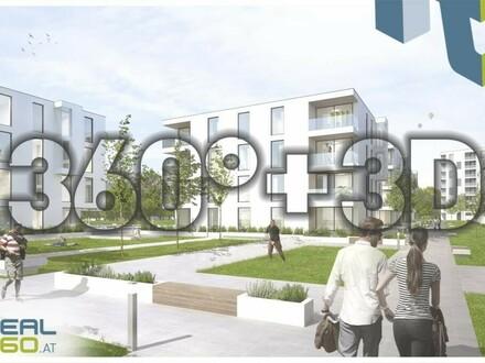 PROVISIONSFREI - Förderbare Neubau-Eigentumswohnungen im Stadtkern von Steyr zu verkaufen!! - SOLARIS AM TABOR (Top 4) BELAGSFERTIG!!