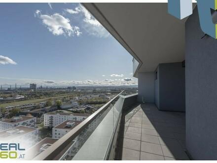 NEUBAU - Wohntraum - 2 Zimmer-Wohnung mit Loggia und Balkon zu vermieten - LENAUTERRASSEN!