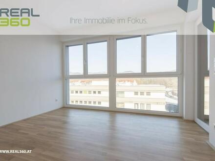 Kompakte Wohnung in Urfahr - mit großer Loggia - alle Räume hofseitig!