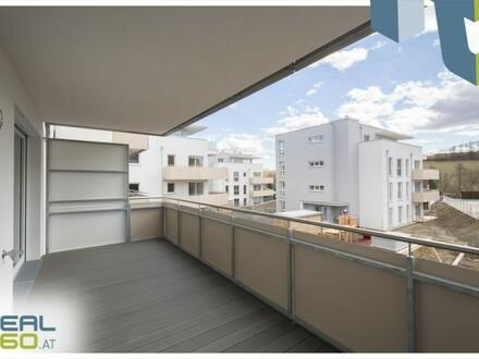 Traumhafte Wohnung mit riesigem sonnigen 14m² Balkon in Neuhofen/Dambach - ERSTBEZUG!!