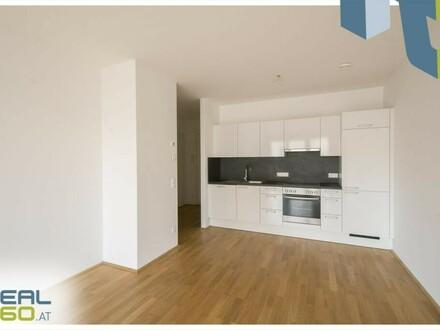 2-Zimmer Wohnung mit Küche, hofseitiger Loggia und TOLLER Gemeinschafts-Dachterrasse!