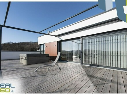 Penthouse am Pöstlingberg | Dachterrasse, Garten, Whirlpool | exklusive Ausstattung!