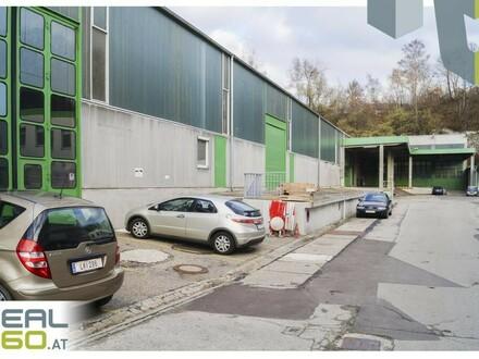 Lagerfläche mit ca. 1500 m² im Zentrum von Linz zu vermieten