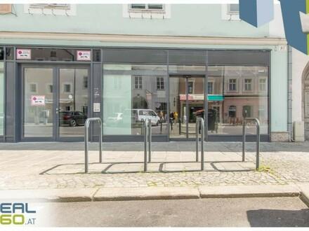 TOP LAGE am Welser Stadtplatz - SUPER AUFTEILUNG! GROSSE SCHAUFENSTER!