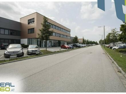 """Gewerbeobjekt (Objekt 10) mit Lagerhalle und Büro zu mieten - TOP-Lage im Linzer """"Südpark""""!"""