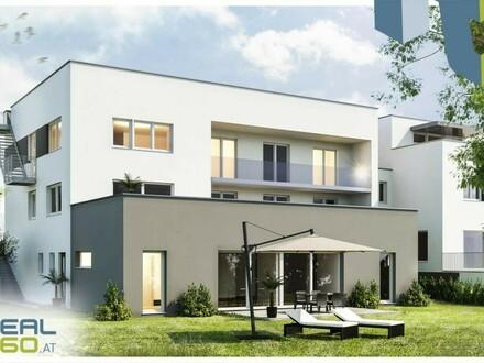 """Attraktive Neubau-Eigentumswohnung """"QUELLENWEG"""" mit großem Garten und eigenem POOL - ERSTBEZUG! (TOP1)"""