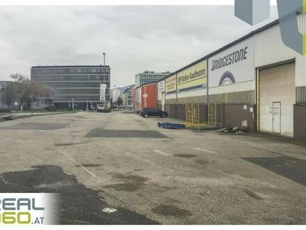TOP Lagerhalle mit ca. 1200m² und zwei großen Rolltoren in Linz-Urfahr!!