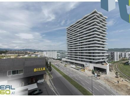 NEUBAU - LENAUTERRASSEN - GRATIS UMZUGSMONAT! 2-Zimmer-Wohnung mit riesiger Wohnküche, Balkon und Badewanne zu vermieten!!