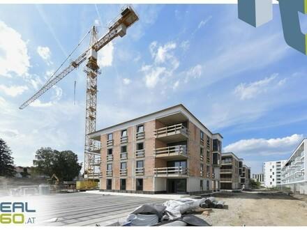 SOLARIS AM TABOR - Förderbare Neubau-Eigentumswohnungen im Stadtkern von Steyr zu verkaufen - PROVISIONSFREI (Top 4) BELAGSFERTIG!!