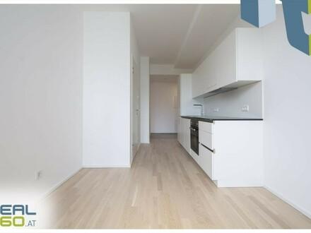 PROVISIONSFREI - ERSTBEZUG - Exklusive 1-Zimmer-Wohnung mit abgetrenntem Schlafbereich zu vermieten!