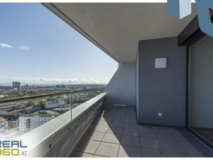 NEUBAU - LENAUTERRASSEN! 3-Zimmer-Wohnung mit riesiger Loggia zu vermieten! (GRATIS UMZUGSMONAT)