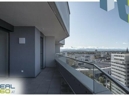 NEUBAU - am Balkon die Abendsonne genießen - perfekte 3-Zimmer-Wohnung zu vermieten - LENAUTERRASSEN!