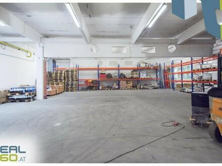 Optimale Lagerhalle mit Rolltor und Anpassrampe in Leonding zu vermieten!