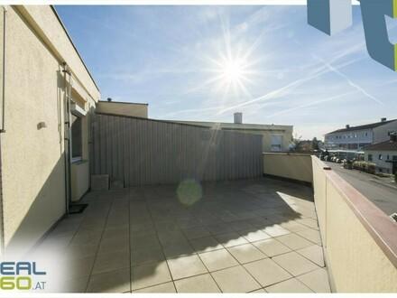 3-Zimmer Wohnung - riesen Terrasse - möblierte Küche!