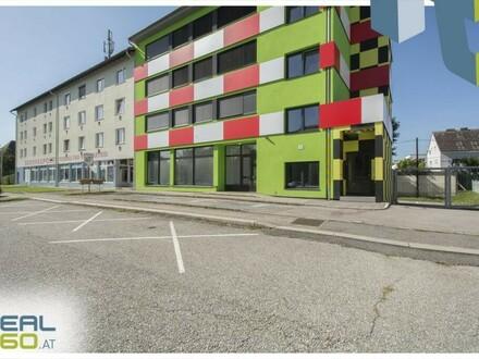 Toll aufgeteilte Geschäftsfläche mit Schaufensterfront in Linz zu vermieten!