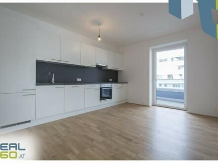 LENAUTERRASSEN - Großzügige 3-Zimmer Wohnung im Neubau mit riesen Loggia!