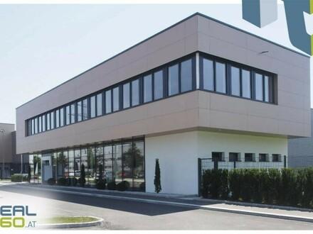 """Tolles Gewerbeobjekt (Objekt 10) mit Lagerhalle und Büro zu mieten - TOP-Lage im Linzer """"Südpark""""!"""