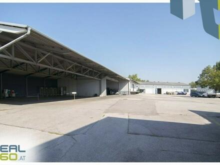 Gewerbeobjekt in Linz-Süd nahe Infra Center zu vermieten! Halle und Flugdach!