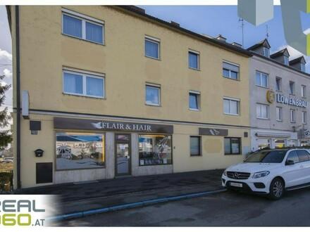 Tolle Geschäftsfläche in Hochfrequenzlage direkt neben der stark befahrenen Salzburgerstraße!!