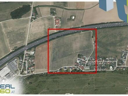 Direkt an der Autobahn A25 gelegenes Gewerbegrundstück in Wels-Nord zu verkaufen!