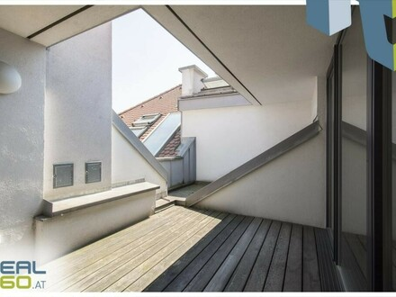 Traumhaftes Penthouse in der Linzer Altstadt mit möblierter Küche, Klimaanlage und 2 Dachterrassen!!