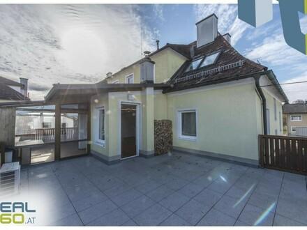 Großzügige klimatisierte 4 Zimmer Wohnung mit 22m² Dachterrasse!