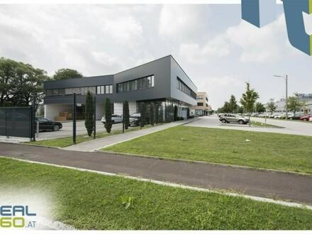 """Gewerbeobjekt (Objekt 12) mit Lagerhalle und Büro zu mieten - TOP-Lage im Linzer """"Südpark""""!"""