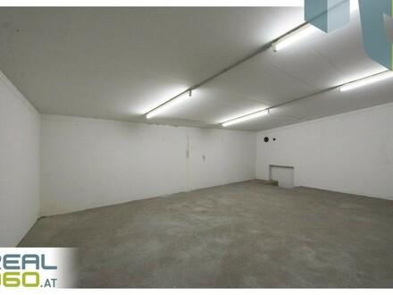 Geräumiges Lager in zentraler Lage - mit PKW Abstellmöglichkeit in Garage!