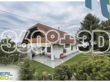 Großzügiges Einfamilienhaus mit Pool und liebevoll gestaltetem Garten in Allhaming!